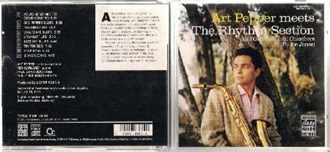 art pepper meets the rhythm section art pepper meets the rhythm section records lps vinyl