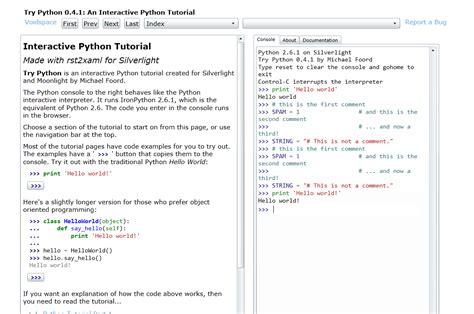 un poco de python 1 trypython aprende python de una forma interactiva