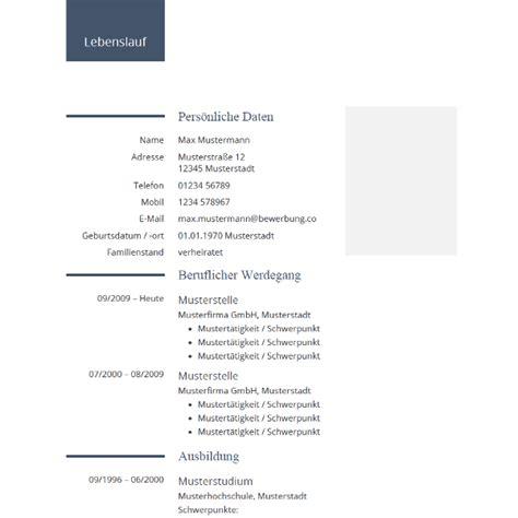 Lebenslauf Beispiele 2015 Tabellarischer Lebenslauf Vorlage Muster Und Beispiele