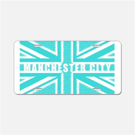 city plates manchester city license plates manchester city front