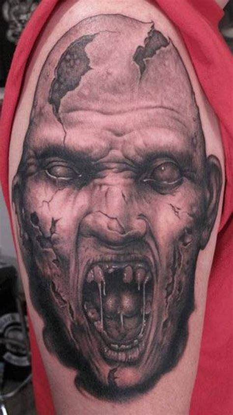 tattoo zombie pictures 16 zombie tattoo exles