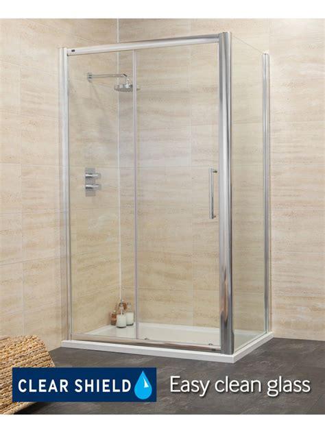 1400 Shower Door Rival 8mm 1400 X 1000 Sliding Shower Door