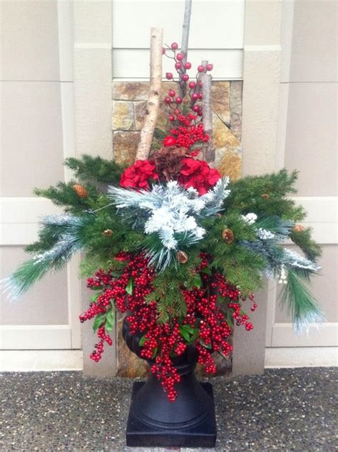 images of christmas urns christmas urns