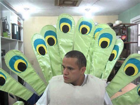 disfraz de pavo con material reciclable disfraz de pavo youtube