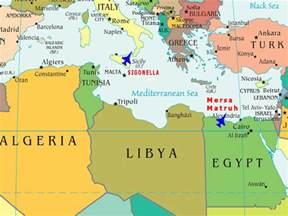Libya World Map by Libya Civil War No Fly Zone