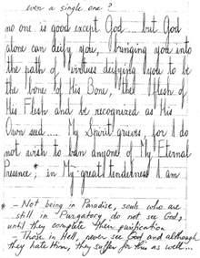 handwriting tlig background