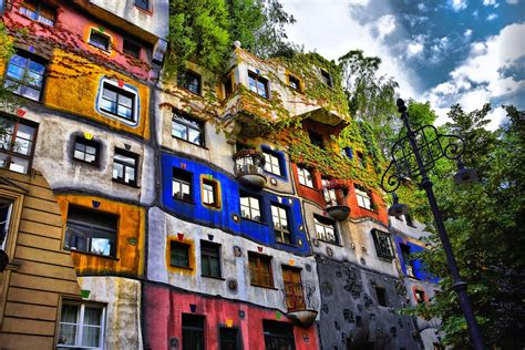 hundertwasser house hundertwasser the different odd pre tend be curious