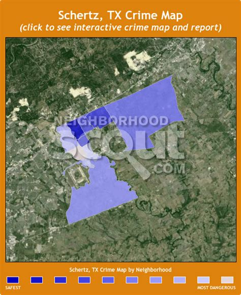 map of schertz texas schertz crime rates and statistics neighborhoodscout