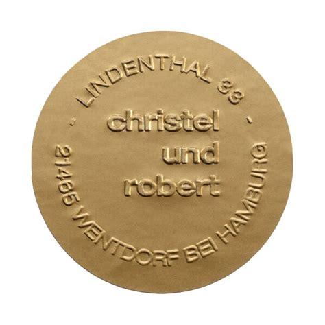 Aufkleber Siegel Rund by Siegeletiketten Quot Alta Quot Rund Gold F 252 R Hochzeitskarten Und
