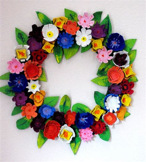 wreaths crafts projects serenity make it egg wreath