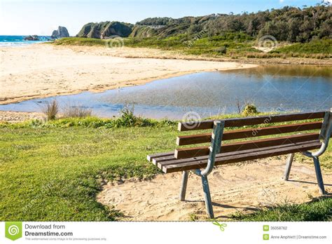 beach benches designs beach bench stock photography image 35058762