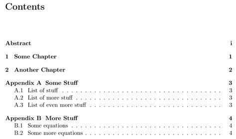 latex appendix section titlesec adding chapter prefix for appendix tex
