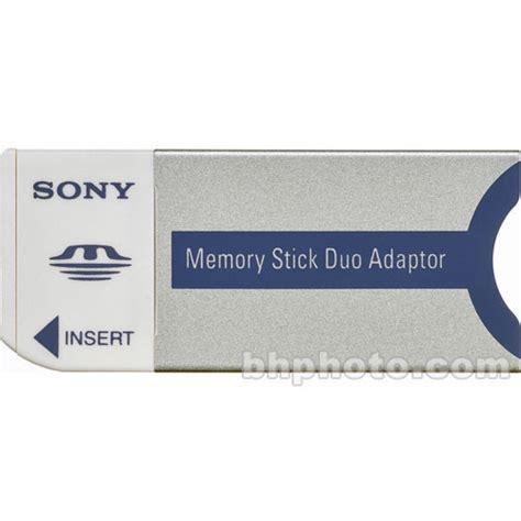 Adapter Memory Stick Pro Duo sony memory stick duo adapter msac m2 b h photo