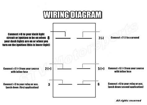 wiring a switch on off on rocker diagram schematic ideas