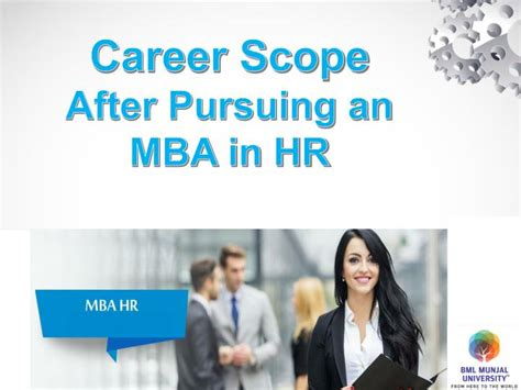 Mba In Service Management Scope by Ppt Career Scope After Pursuing An Mba In Hr Powerpoint