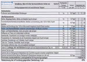 Angebot Grundreinigung Vorlage Leistungsma 223 Bei Ausschreibungen Kompetenzteam Geb 228 Udereinigung