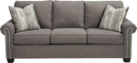 charcoal couches gilman charcoal sofa 9260238 ashley