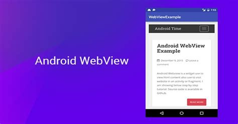 android webview tutorial webview exle in android