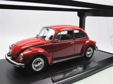 norev  vw  kaefer volkswagen beetle rot  modellauto
