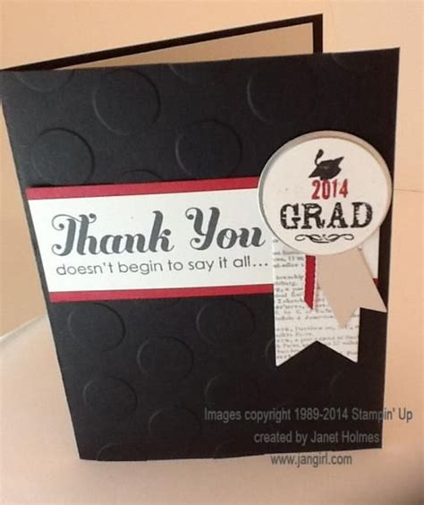 Graduation Thank You Card Ideas