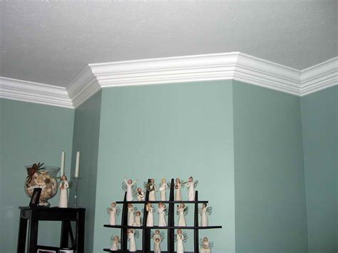 Ceiling Moldings Ideas by Planning Ideas Crown Molding Ideas Blue Wall Crown