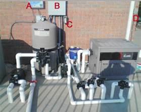 on ground inground pool filter system plumbing