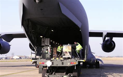 727th ams air freight handlers keep cargo mission moving gt royal air mildenhall gt article