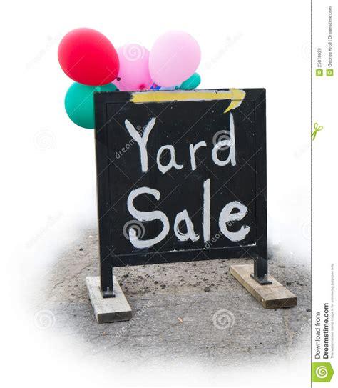 yard sale garage sale sign royalty free stock images