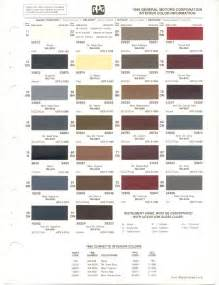 gm color codes general motors paint codes html autos post