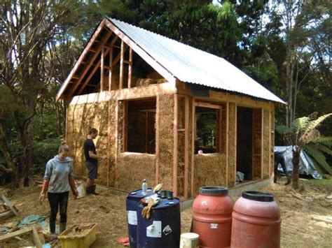 Load Bearing Straw Bale House Plans Our Attempt At Building A Small Straw Bale House For 15 000