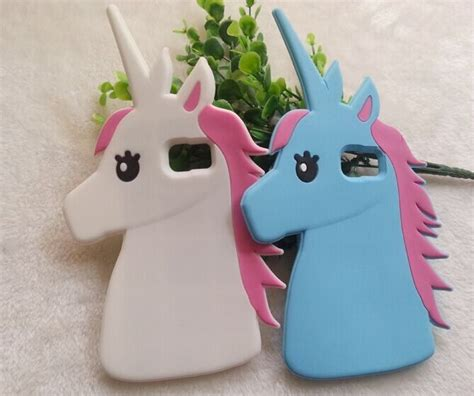 Rubber Boneka Tedy Samsung Galaxy Note 3 samsung galaxy s6 edge plus cases fashion 3d lovely unicorn soft silicon rubber