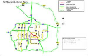 Colorado Toll Roads Map by Road Closures For Wednesday S Presidential Debate In