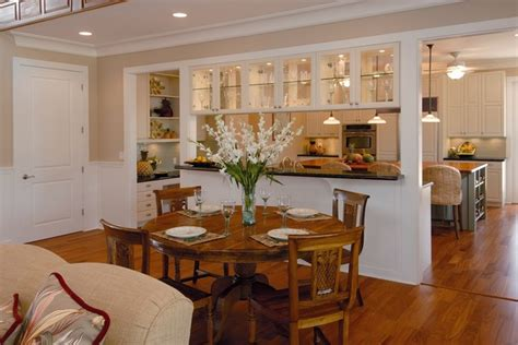 Opening Kitchen To Dining Room Plantation By The Sea Tropical Dining Room Hawaii