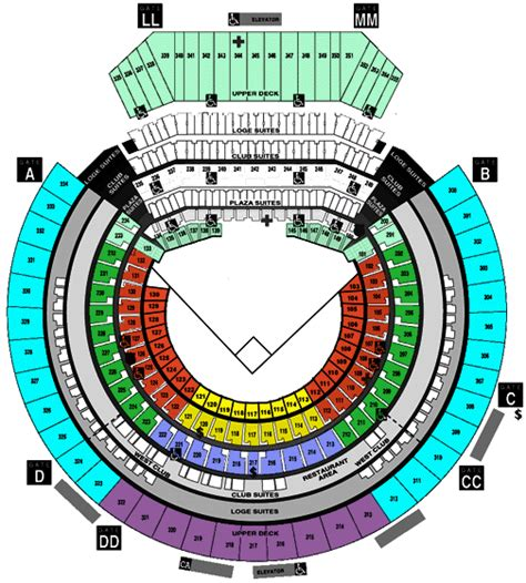 oakland raiders 3d seating image gallery oakland coliseum map