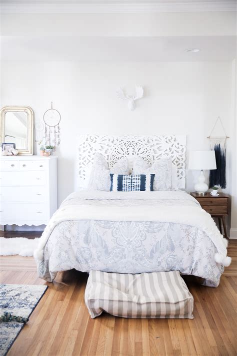 Bedroom With by Designing My Bohemian Bedroom With Interiorcrowd