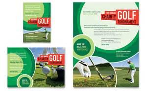 golf tournament brochure template golf tournament flyer ad template word publisher