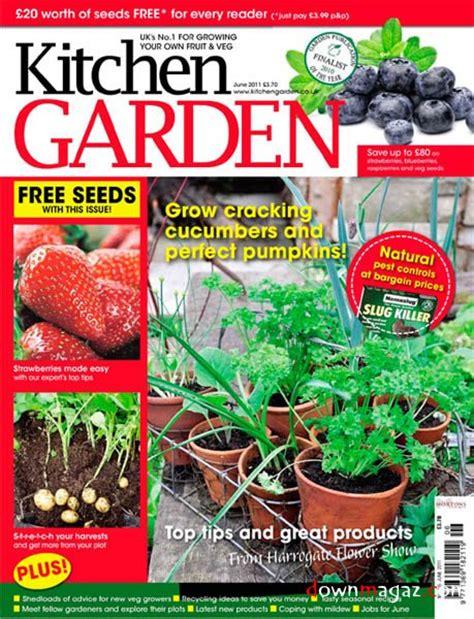 Kitchen Garden Magazine Free Seeds Kitchen Garden June 2011 187 Pdf Magazines