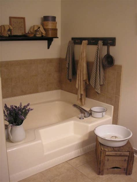 appealing country french bathroom decorating using old
