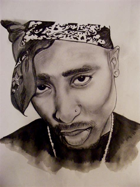 Drawing 2pac by Drawing I Did Of Tupac This Drawing Is Weeemerful