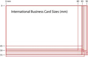 business card sizes international business card dimensions ne14 design