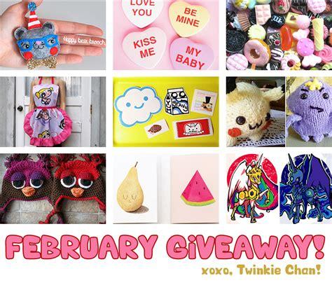 Sponsor Giveaway - february blog sponsor giveaway twinkie chan blog