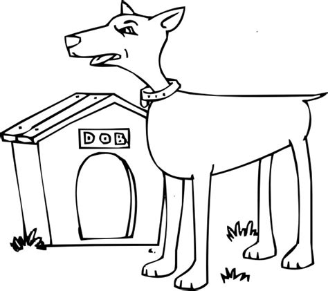 doverman free coloring pages