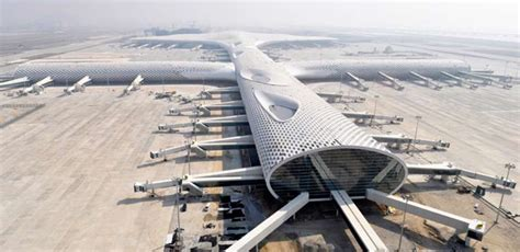 shenzhen bao an international airport e architect