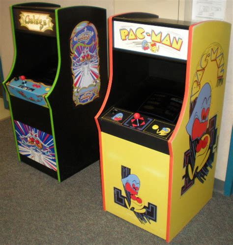 Pacman Cabinet Plans by David S Insanity Home Arcade Projects Mini