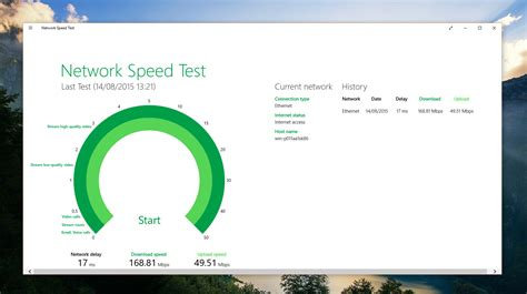 network speed test microsoft network speed test windows 8 10 app