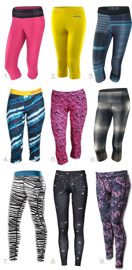 colorful running tights running style bright tights paperblog