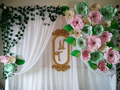 Paper Flower Backdrop Dekorasi Bunga Kertas 19 event hacks 8 tips for event marketing success palembang and diy decoration