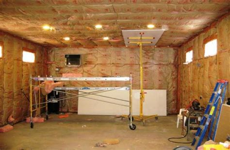 Drywall Cathedral Ceiling by Informations Isolation Garage Les Mat 233 Riaux Les