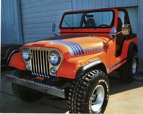 orange jeep cj 1980 jeep cj 5 convertible 75328