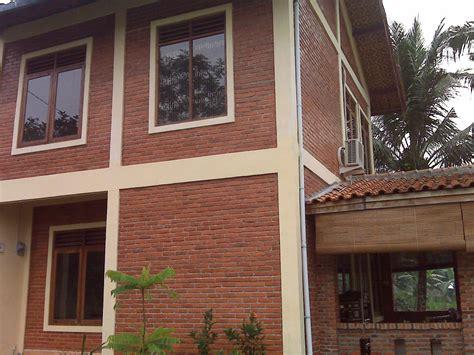 desain rumah bata expose batu bata ekspos info bisnis properti